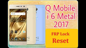 QMobile i6 Metal 2017 Secure Boot file MTK | Mobile Flashing
