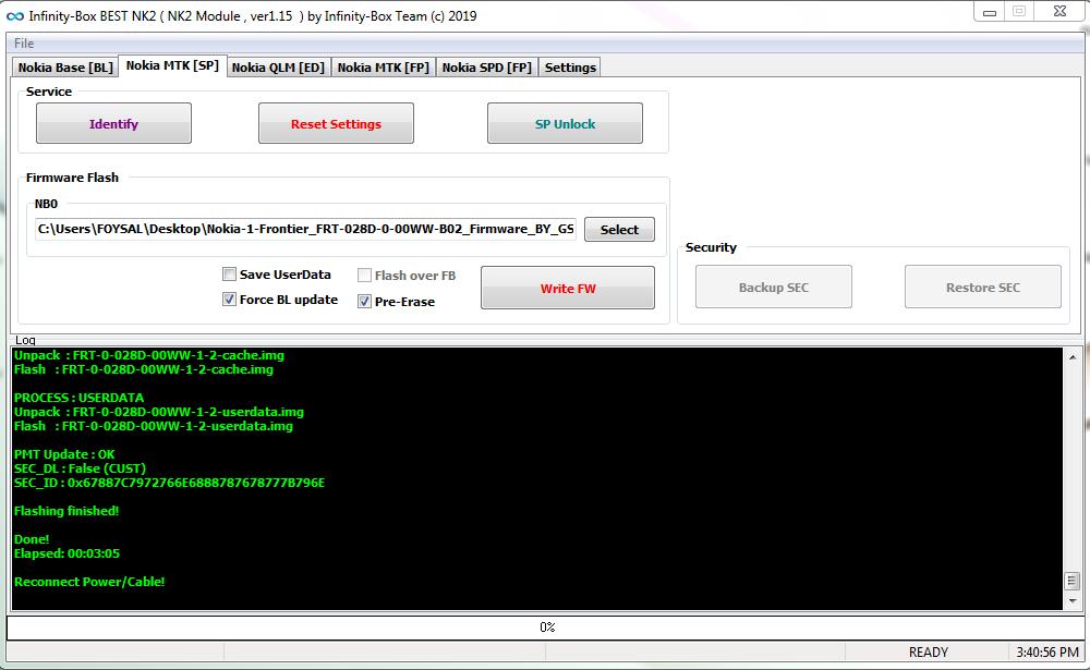 Lenovo A6000 Flash Tool