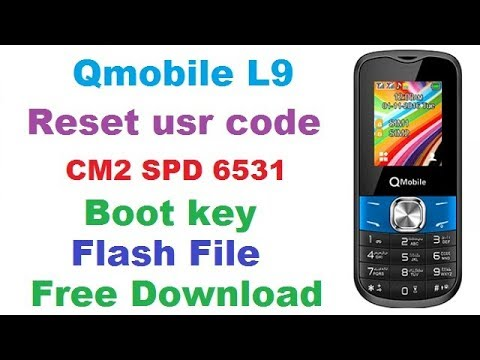 Download Qmobile L9 SPD 6531 Flash File | Mobile Flashing