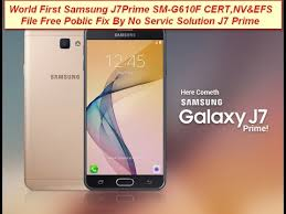 Download Samsung Galaxy G610F Cert efs file100% tested