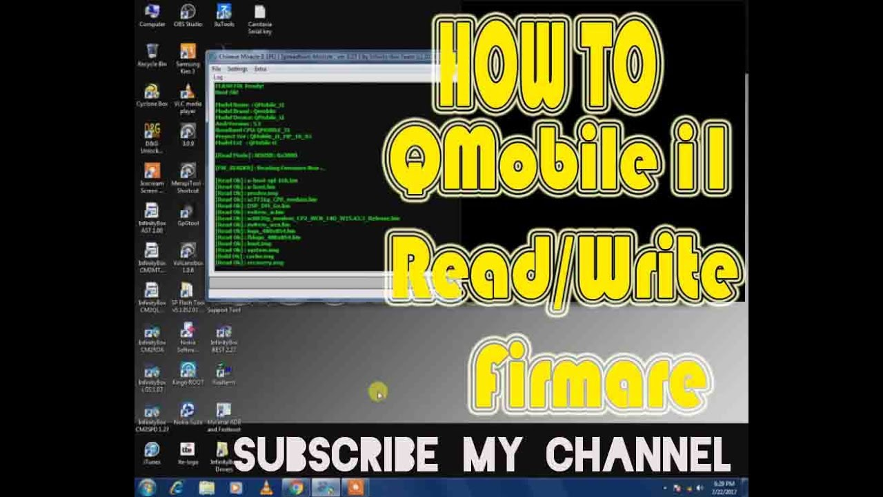 Download QMobile i2 Stock Firmware ROM (Flash File) | Mobile