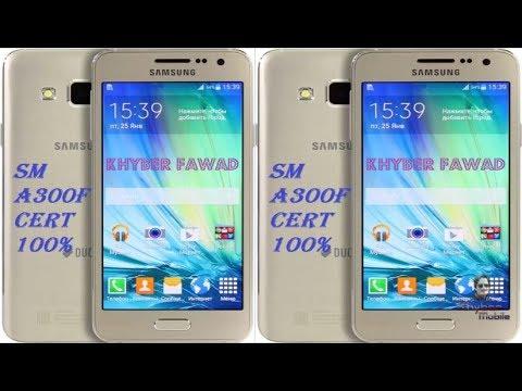 Download Samsung SM-A300F Cert File Free  | Mobile Flashing