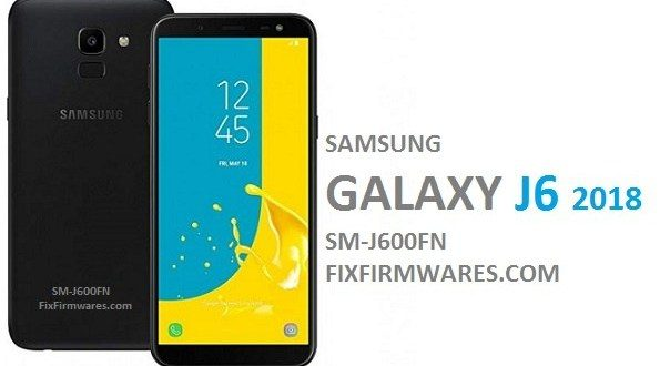 Download Samsung Galaxy J6 SM-J600FN official firmware