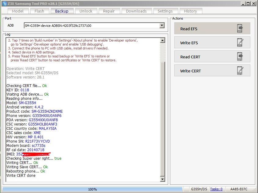 Download Samsung G355H Cert File 100% Tested   Mobile Flashing