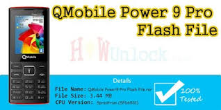 Download QMobile Power 9 pro Flash File SPD6531 With Boot
